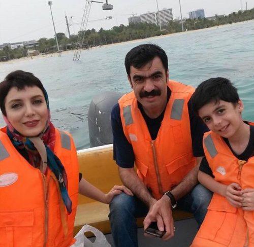 عکس های رویا میرعلمی و همسر و پسرش