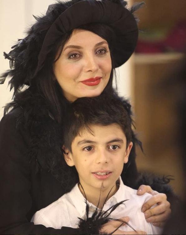 عکس های رویا میرعلمی و پسرش کارن