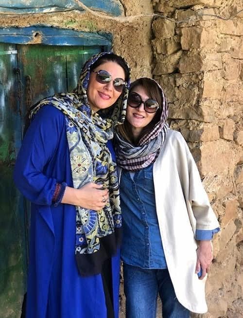 عکس های لاله اسکندری و خواهرش سارا اسکندری