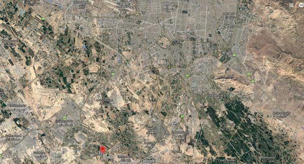 محل تورقوز آباد در نقشه