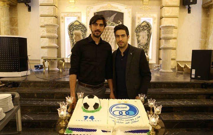 عکس کیک تولد استقلال سال ۹۷