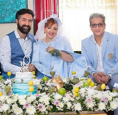 عکس های سالگرد ازدواج بهاره رهنما و همسرش1
