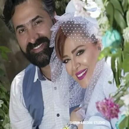 عکس های سالگرد ازدواج بهاره رهنما و همسرش