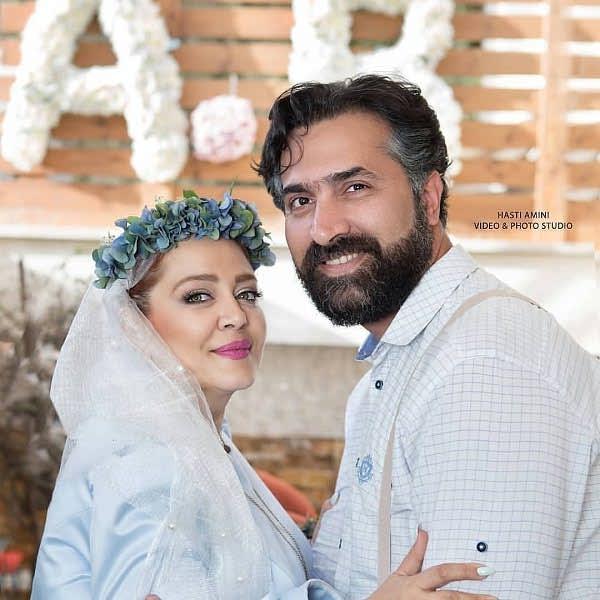 سالگرد ازدواج بهاره رهنما و همسرش امیر خسرو عباسی
