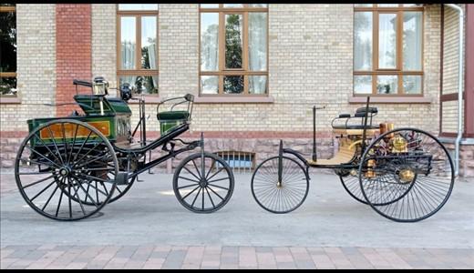 اولین خودرو با موتور چهار زمانه