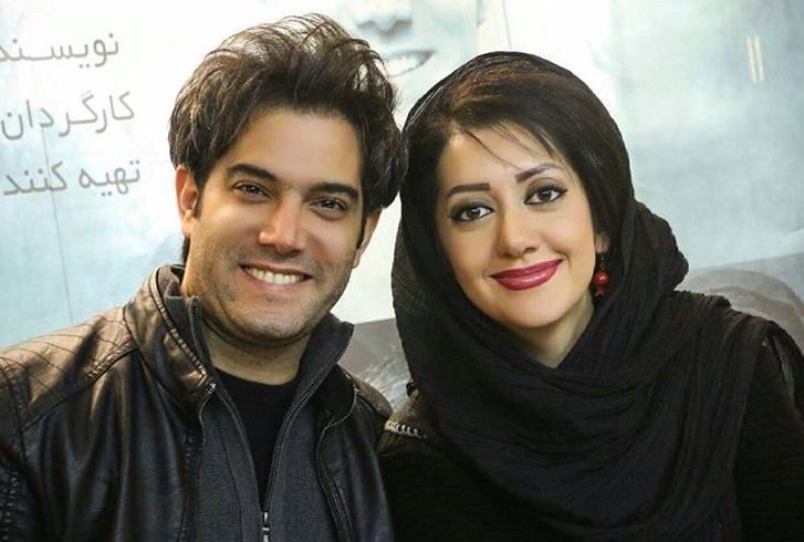 امیرعلی نبویان و همسرش بهار نوروز پور