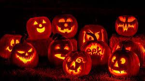 تزئین کدو تنبل هالووین