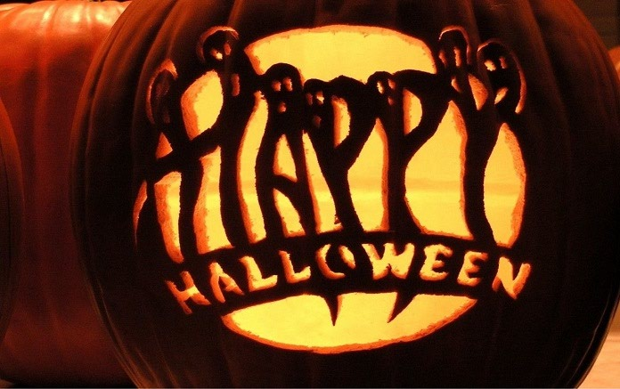 عکس تزئین کدو تنبل هالووین