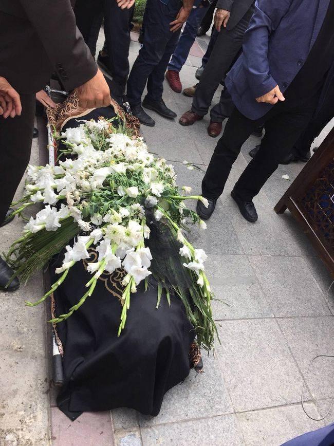 جنازه مرحوم بهرام شفیع