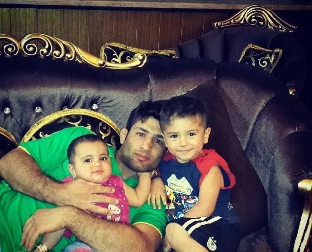سعید عبدولی و فرزندانش