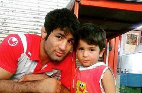 سعید عبدولی و پسرش