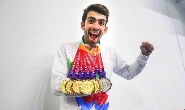 شاهین ایزدیار مدال های بازیهای پاراآسیایی را درو کرد
