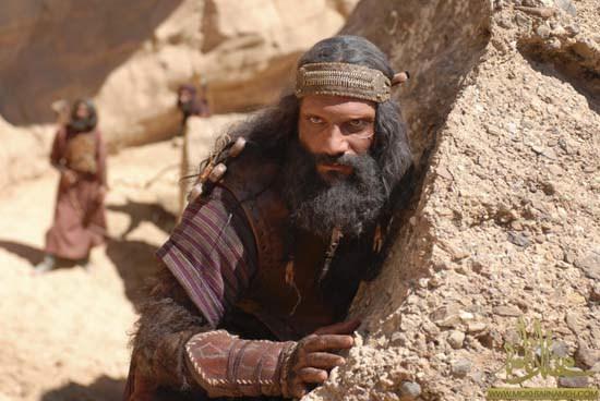 عکس انوش معظمی در نقش حرمله