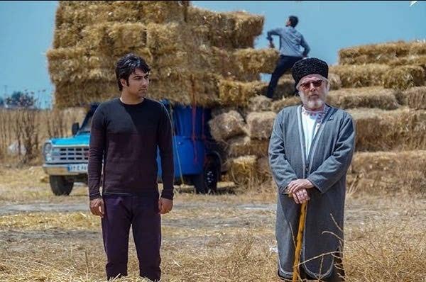عکس بابک انصاری در سریال بازی نقاب ها