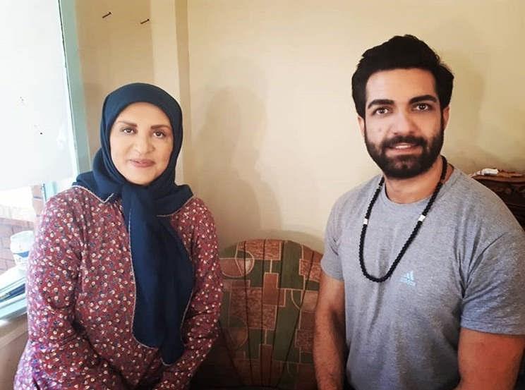 عکس لیلا اوتادی و رضا اکبرپور در حوالی پاییز