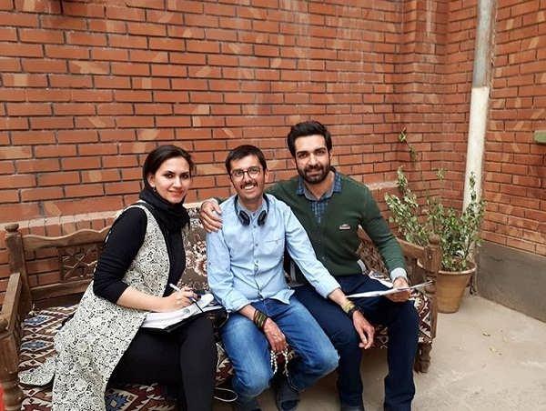 عکس رضا اکبرپور در سریال حوالی پاییز