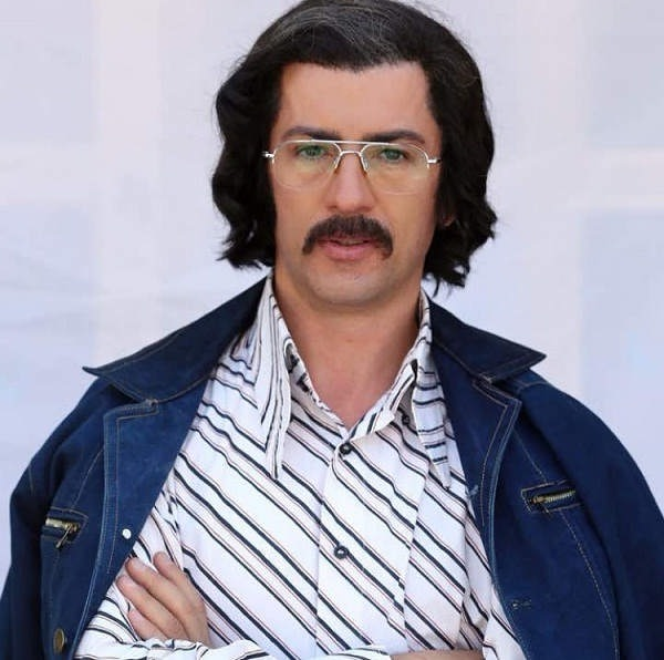 عکس سیروس همتی در نقش سید در سریال دلدادگان