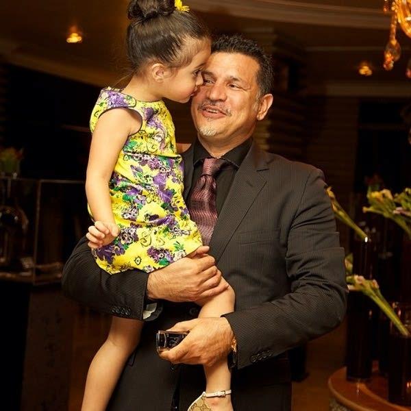 عکس علی دایی و دخترش نورا
