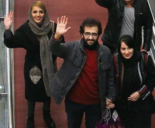 عکس هایبهروز شعیبی و همسرش فاطمه کمالی