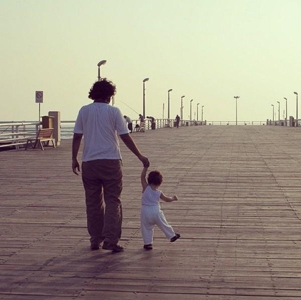 عکس هایبهروز شعیبی و پسرش هاتف