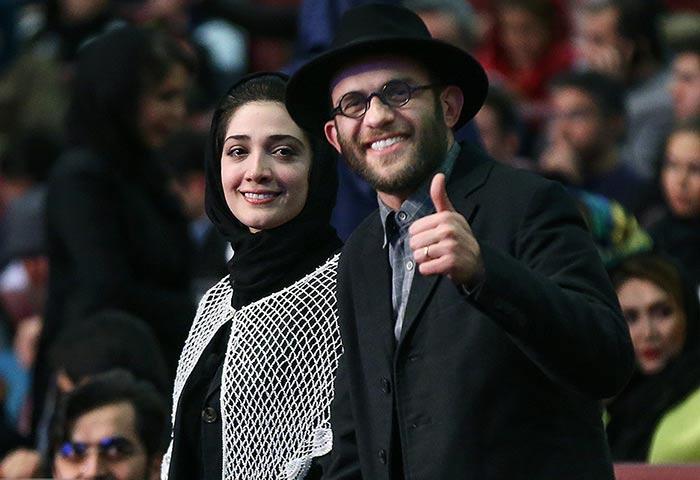 عکس های مینا ساداتی و همسرش بابک حمیدیان
