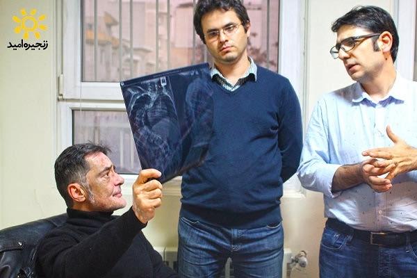 عکس های پدر ستون فقران ایران پرفسور کیوان مزدا