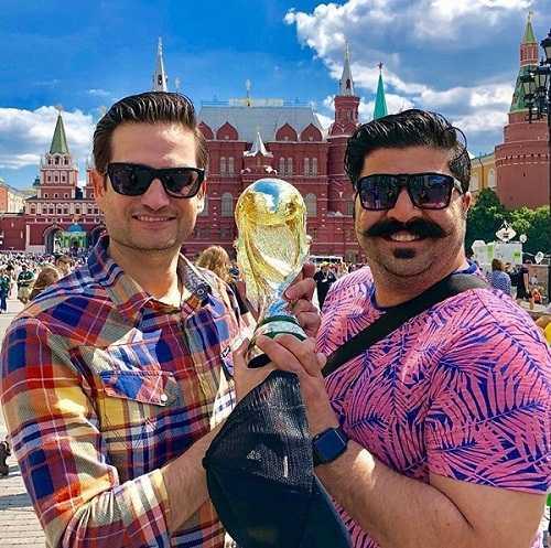 عکس های پویا امینی در جام جهانی ۲۰۱۸ روسیه