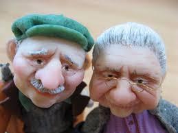 عکس کارتونی سالمندان