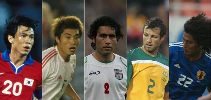 کاندیداهای بهترین مدافع جام ملت های آسیا