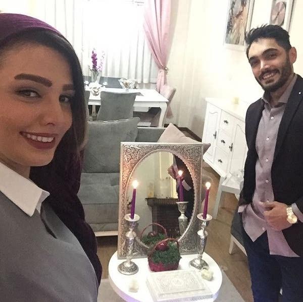 عکس های سیما خضرآبادی و همسرش سهیل