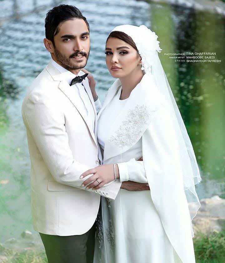 عکس های مراسم ازدواج سیما خضرآبادی و همسرش سهیل