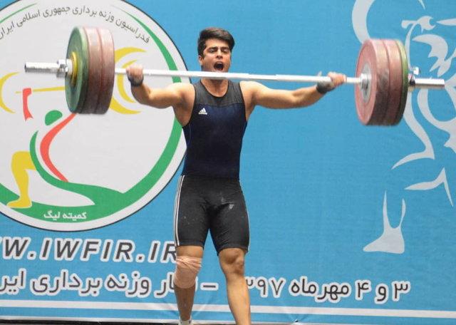 حسین سلطانی وزنه بردار ۷۳ کیلوگرم