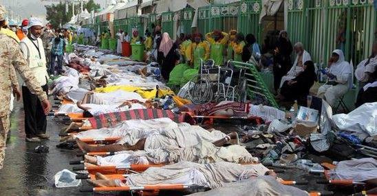 علت حادثه منا و عکس های این فاجعه