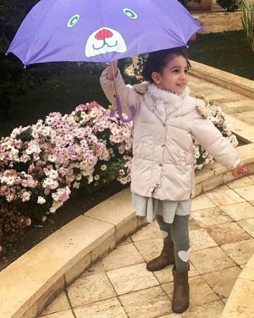 عکس دختر کامبیز دیرباز