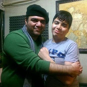 عکس های برادر مهران غفوریان و پسرش ایلیا