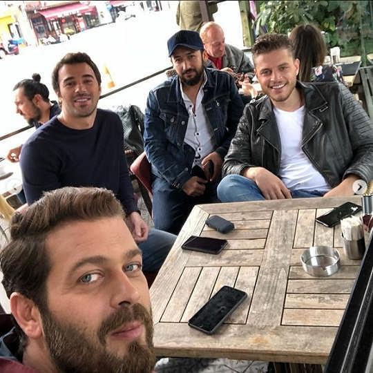 عکسیوسف چیم بازیگر ترکیه ای فیلم سینمایی ترانه ای عاشقانه برایم بخوان