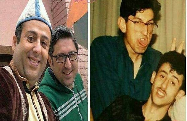 تصاویر قدیم و جدید شهاب عباسی و ابراهیم شفیعی