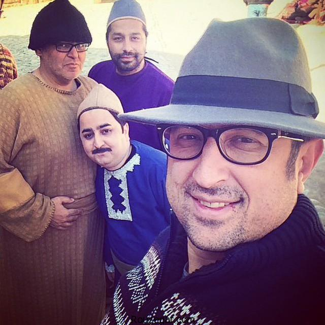 شهاب عباسی و عوامل خنده بازار