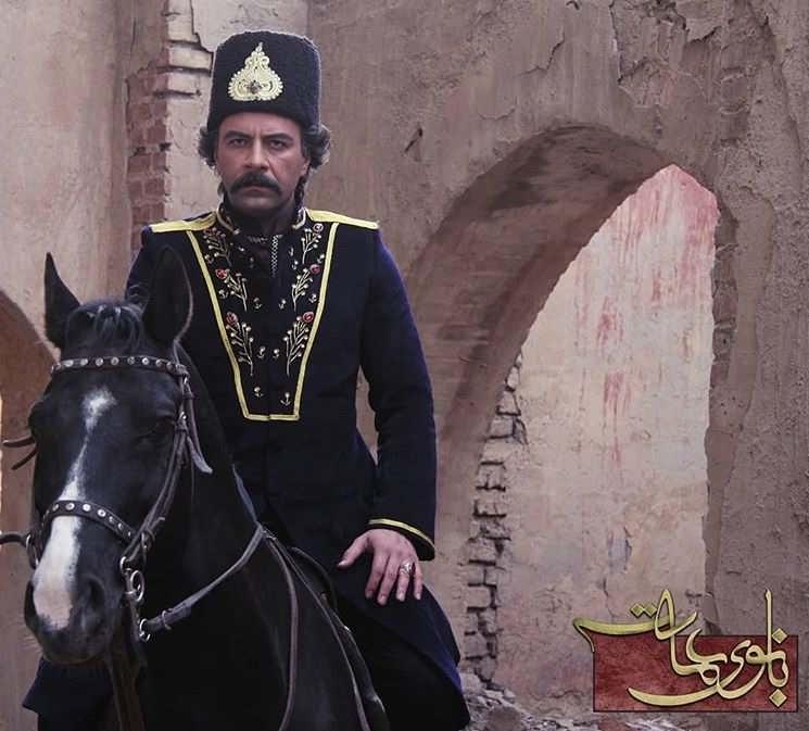 عکس ارسلان میرزای قاجار یا شازده ارسلان قاجار در بانوی عمارت
