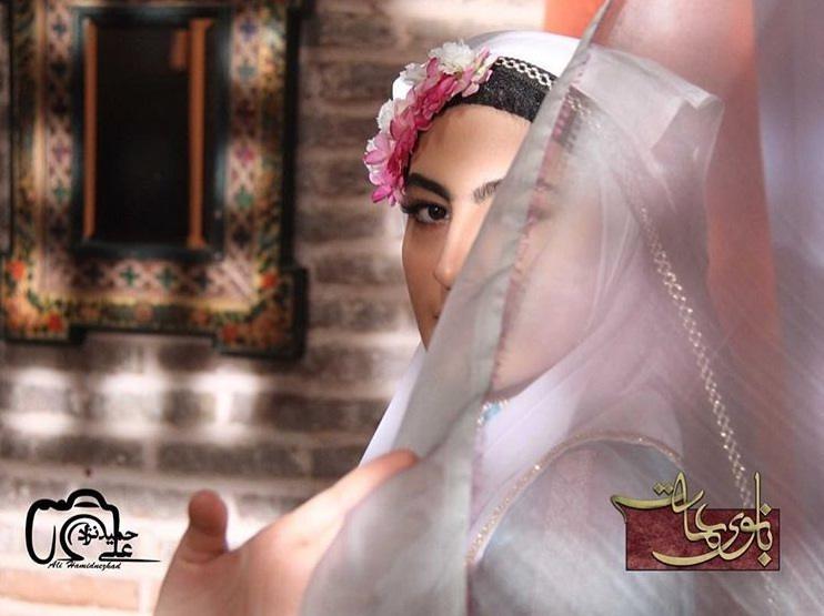 عکس بازیگر نقش فخری در سریال بانوی عمارت
