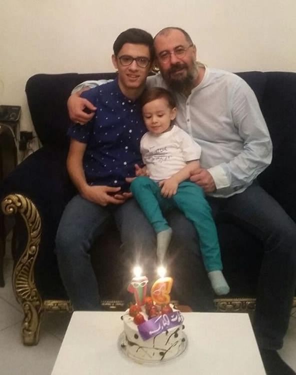 عکس تولد پسر بزرگ سیاوش مفیدی به نام علی