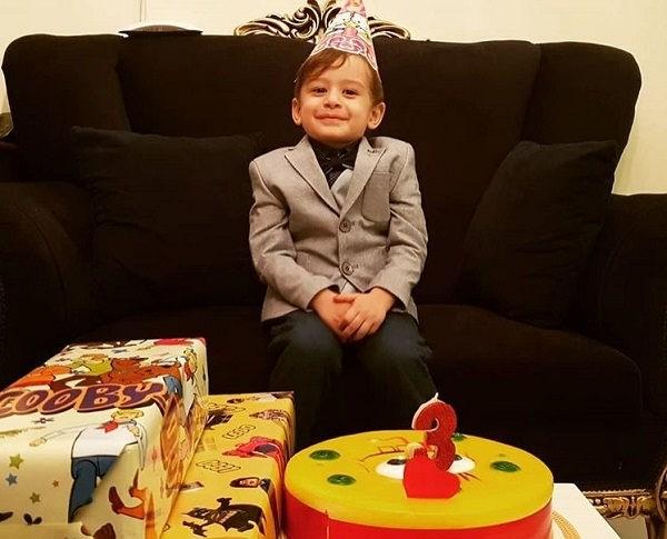 عکس تولد سام مفیدی پسر کوچک سیاوش مفیدی