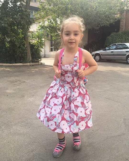 عکس دختر بیژن بنفشه خواه به نام یاسمین
