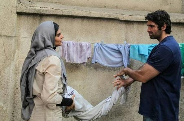 عکس سحر کریمی و شهاب شادابی در فیلم دعوتنامه