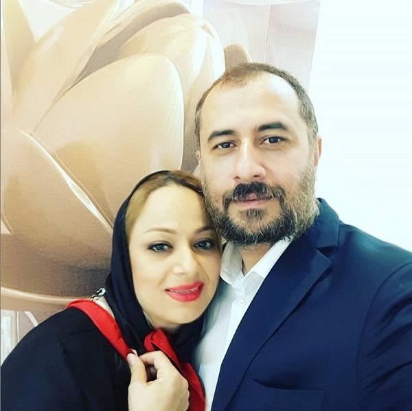 عکس سیاوش مفیدی و همسرش