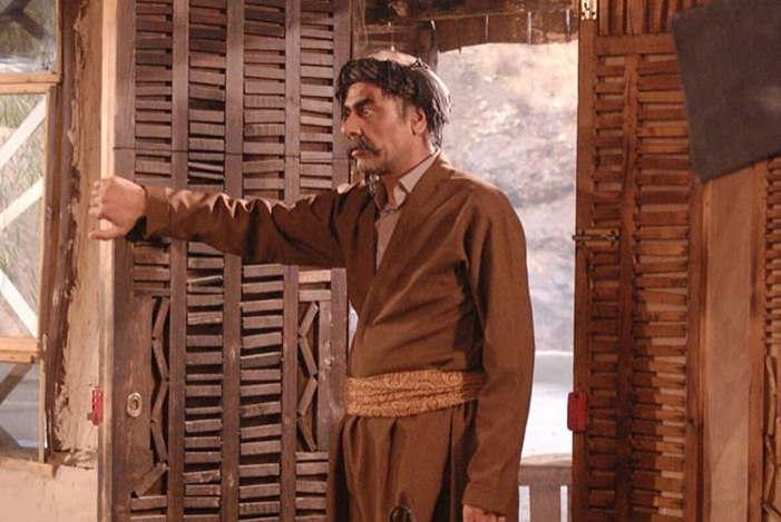 عکس محمد رضا نجفی بازیگر در فیلم ستایش یک در نقش کاک مراد