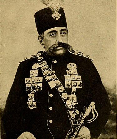 عکس مظفر الدین شاه قاجار