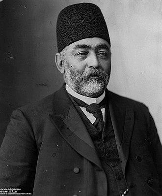 عکس میرزا علی اصغر خان ملقب به امین السلطان