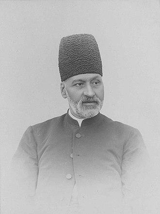 عکس میرزا نصرالله خان نائینی