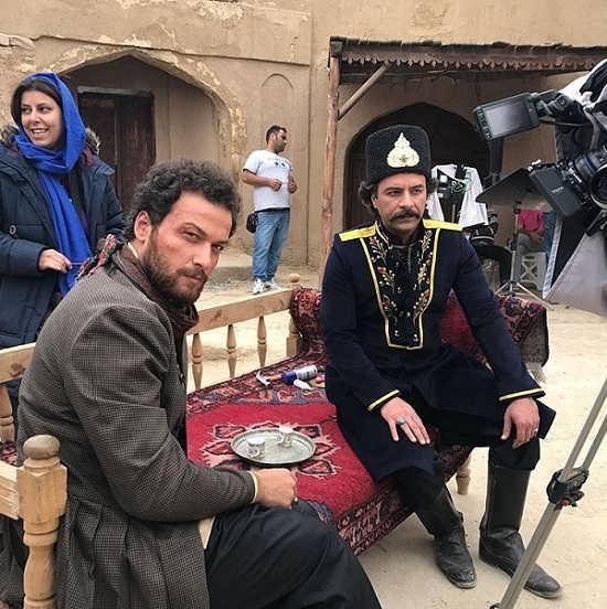 عکس میلاد میرزایی بازیگر نقش رشید در سریال بانوی عمارت